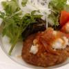 ふっくらハンバーグ(和風/イタリアン・ライス付) 1,300円